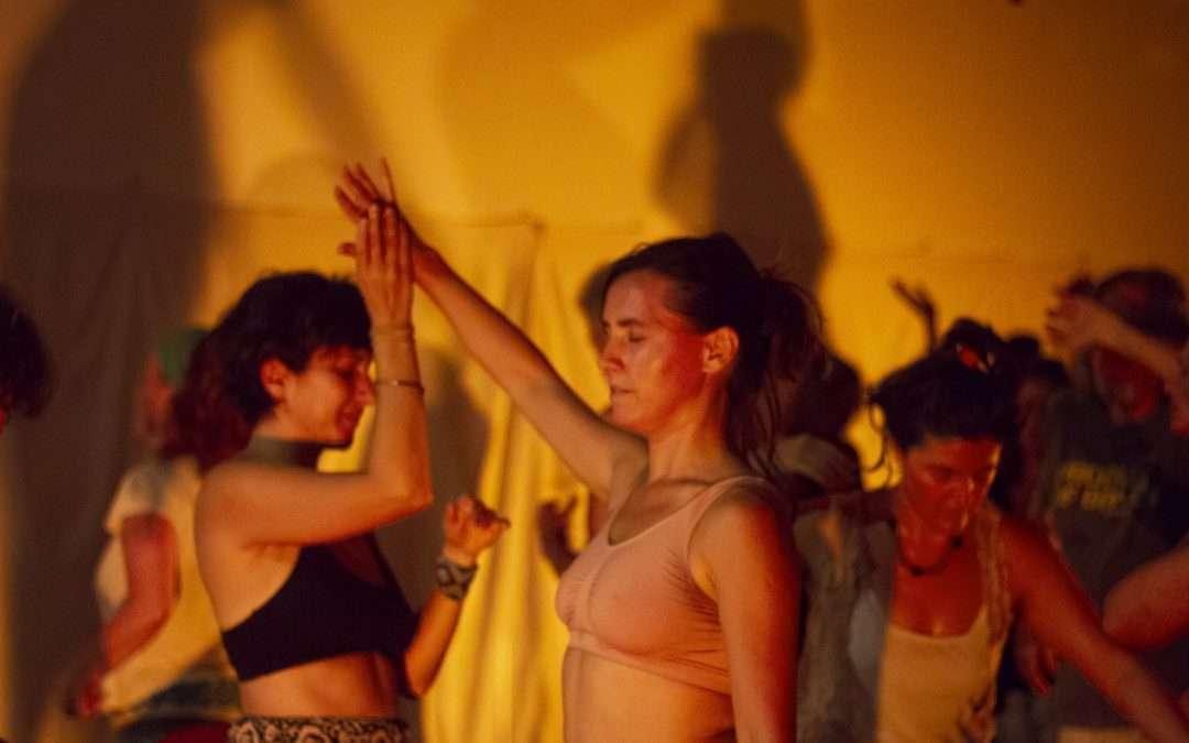 La danza de la Mujer Mediciana: LabOratorio Danzado